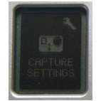 icono capture settings