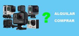 ¿Es rentable alquilar una cámara GoPRO?
