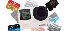 ¿Cuánto dura la tarjeta de memoria de la Hero 5?