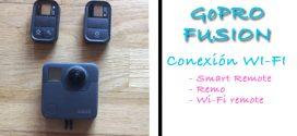 Como conectar la GoPRO Fusion con el Smart Remote, Remo y Wi-Fi Remote