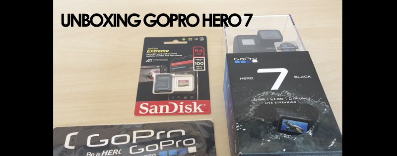 Unboxing GoPRO Hero 7 Black Edition